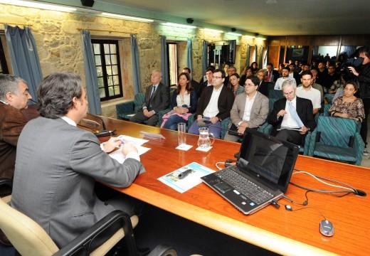 A Deputación iniciará as obras da rede ciclista metropolitana en canto dispoña dos terreos que deben ceder os concellos