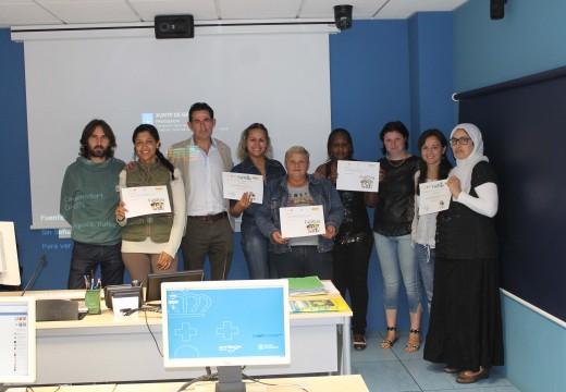 O Concello de Oroso e a Mancomunidade de Ordes impartiron un curso de informática básica para mulleres inmigrantes