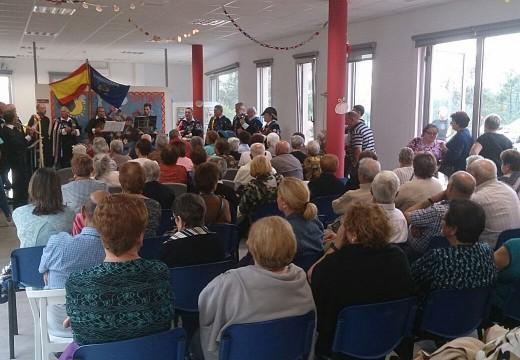 Máis dun cento de maiores disfrutaron do Magosto do Centro de Día de Lousame