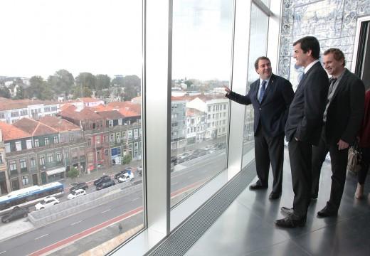 A Coruña e Porto acordan unha proposta para a rexeneración urbana dos seus barrios para optar á convocatoria de fondos europeos de 2015