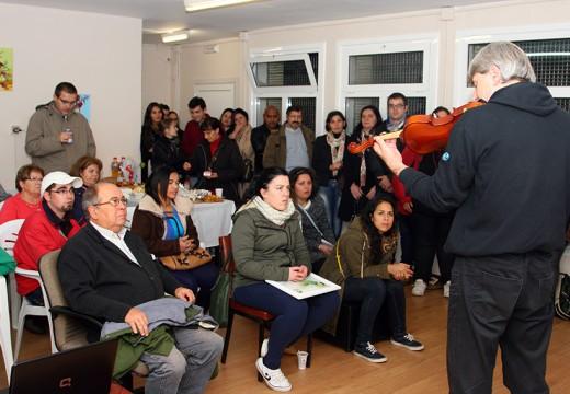 Andaina Pro Saúde Mental celebra o seu cuarto aniversario na súa nova sede ordense