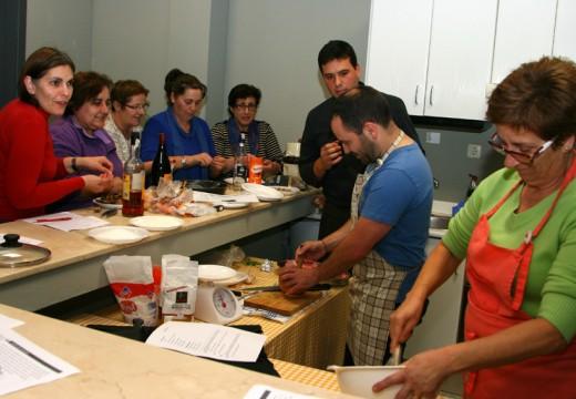 Arrancan os cursos de cociña no Concello de Ordes