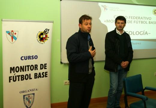 Manuel Regos inaugura na cidade deportiva o Curso Federativo de Monitor de Fútbol Base