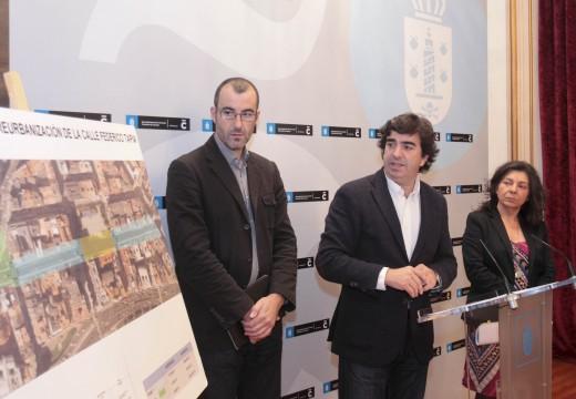 O Concello empeza o próximo mércores a primeira fase da renovación da rúa Federico Tapia