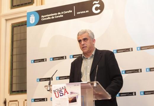 Francisco Mourelo presenta unha nova edición de Becas USA que incrementa, un ano máis, o número de prazas, centros e destinos