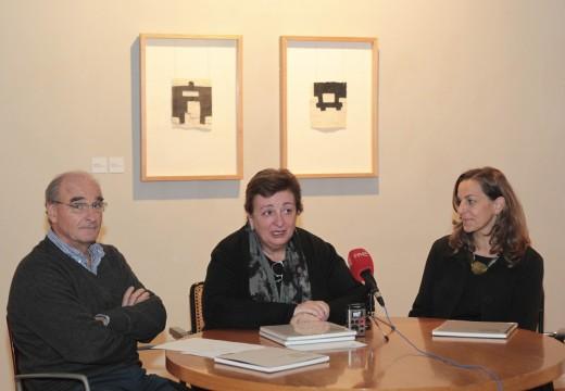 O Concello inaugura 'Preguntas', de Eduardo Chillida, cuxa obra se expón por primeira vez na Coruña