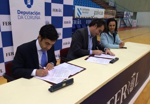 A Deputación achegará preto de 260.000 euros para reformar o pavillón de a Malata e o xardín educativo de Aquaciencia en Ferrol
