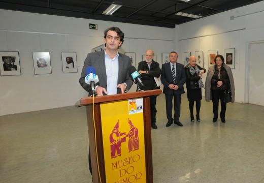 """Exposición """"Pola cara"""" no Museo do Humor de Fene"""