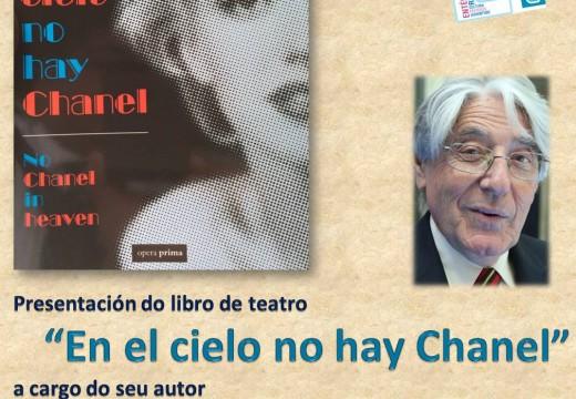 """O xornalista Alfredo Amestoy presentará mañá no Centro Cultural Lustres Rivas o seu libro """"en el cielo no hay chanel"""""""