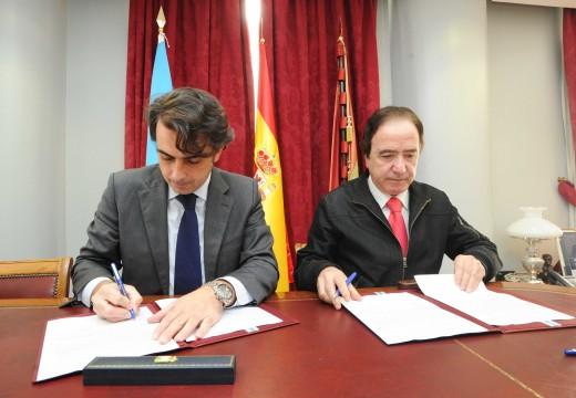 A Deputación asume a reparación da piscina municipal de Coirós
