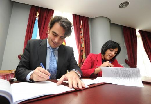 A Deputación da Coruña corrobora o seu compromiso coa Casa da Cultura de Cee ao formalizar a última achega