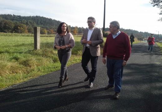 A Xunta de Galicia investirá case 93.000 euros na mellora dos camiños rurais do concello de Dodro entre 2013 e 2015
