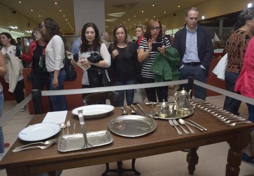 Xa son máis de mil os visitantes á exposición sobre O Afundimento do Santa Isabel