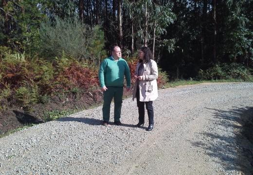 A Xunta de Galicia investirá case 169.000 euros na mellora dos camiños rurais do concello de Aranga entre 2013 e 2015