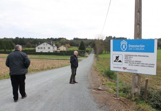 O Concello de Oroso inviste 218.000 euros na mellora da rede viaria das parroquias de Marzoa, Oroso, Senra, Trasmonte, Gándara e Ánxeles