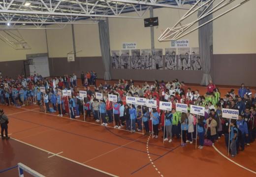 Emotivo acto inaugural nos XVIII Xogos Autonómicos de Natación Special Olympics