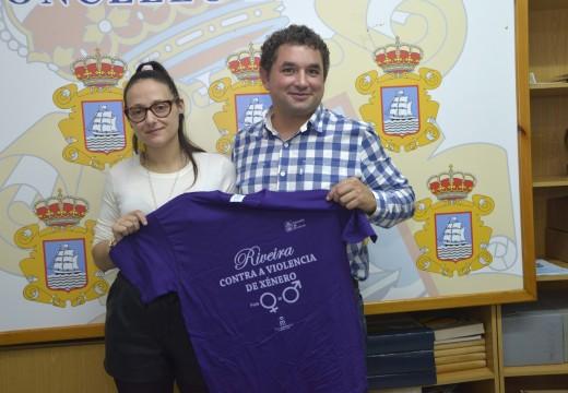 Carreira solidaria contra a violencia de xénero e a favor da igualdade en Riveira
