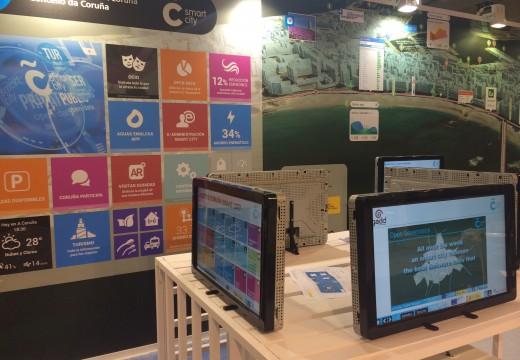 A Coruña presenta o seu proxecto de cidade intelixente na feira mundial de smart cities en Barcelona