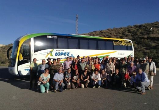 Veciños da Baña coñecen a Serra de Cazorla e Granada