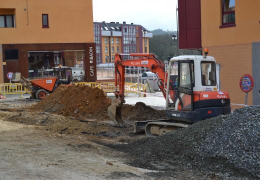 Arrancan as obras de urbanización de Martín Códax