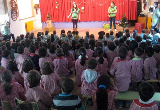 A ANPA O Futuro achega o Nadal ao colexio Campomaior