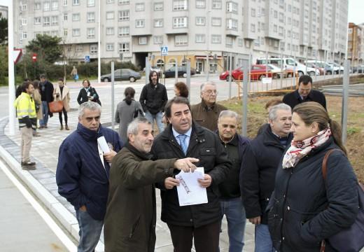 O Goberno local elimina o primeiro dos tres tapóns urbanísticos doCastrillón e crea 110 prazas de aparcadoiro en Casanova de Eirís