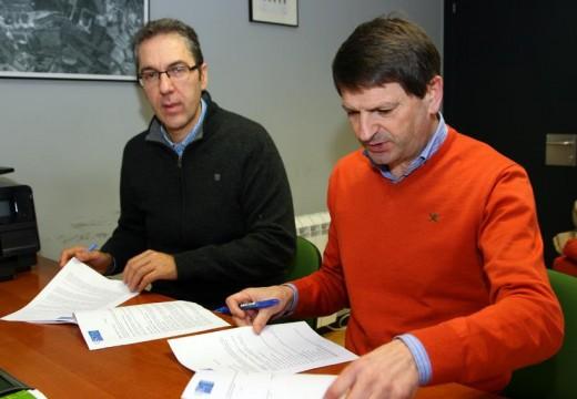 O Cocello de Ordes e a USC asinan o convenio para a posta en marcha do Centro Tecnolóxico e de Emprendedores