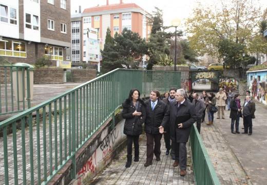 O alcalde anuncia o impulso do Centro Comercial do Ventorrillo para convertelo no motor económico do barrio