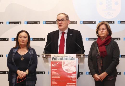 O Concello súmase aos actos de celebración polo Día Internacional do Voluntariado