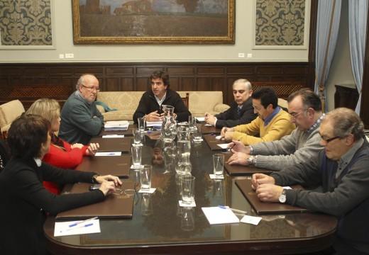 O Goberno local inicia unha rolda de reunións cos colectivos que participaron na tramitación do PEPRI