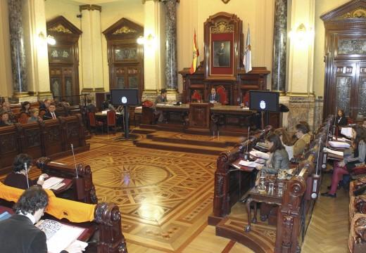 A Coruña é a primeira cidade galega que aproba o Presuposto Municipal de 2015 e no que, por cuarto ano consecutivo, se conxelan os impostos
