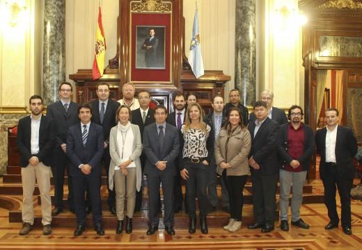 Coruña Smart City establece contactos con sete países de Latinoamérica para exportar as solucións innovadoras