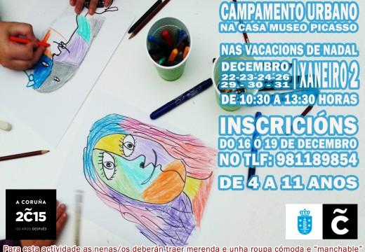 Picasso repite no programa de actividades navideñas do Concello
