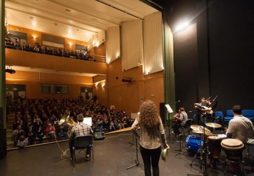 O  XXIII Concerto de Nadal convértese nunha das celebracións  máis concurridas do programa navideño organizado polo Concello de Ordes