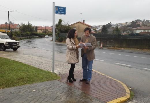 Economía e Industria inviste preto de 20.000 euros na renovación do alumeado público de varias zonas do concello de Sada