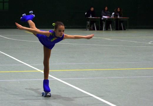 A A.D. Liceo imponse no III Trofeo Alquimia Ordes de patinaxe artística