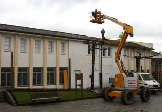 O Concello de Ordes  inicia a primeira fase de reforma da antiga escola unitaria