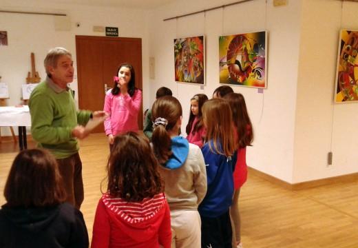 A Casa da Cultura de Lousame acolle unha mostra de Víctor Lens ata mediados de xaneiro