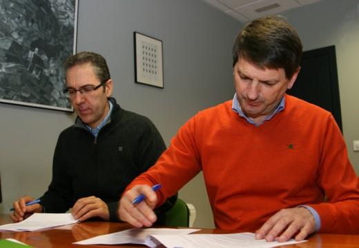 O Concello e a USC asinan o convenio de colaboración para a posta en marcha do Centro Tecnolóxico e de Emprendedores