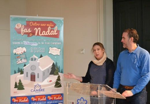 """Cambre presenta a campaña de Comercio Local de nadal """"Un ano máis, Ti fas o Nadal"""""""