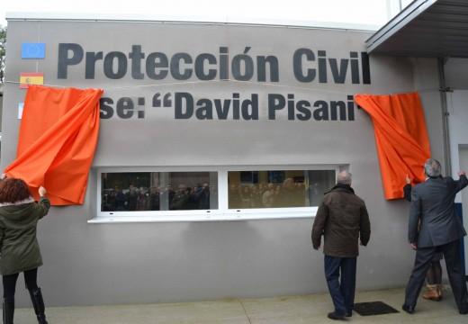 Cambre homenaxea a David Pisani