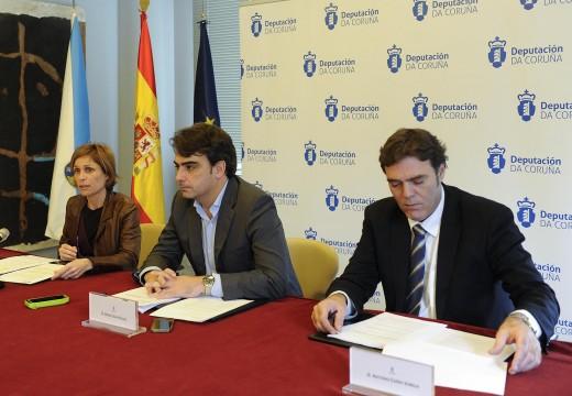 Turismo de Galicia colabora coa Deputación da Coruña para a posta en valor dos recursos turísticos da provincia