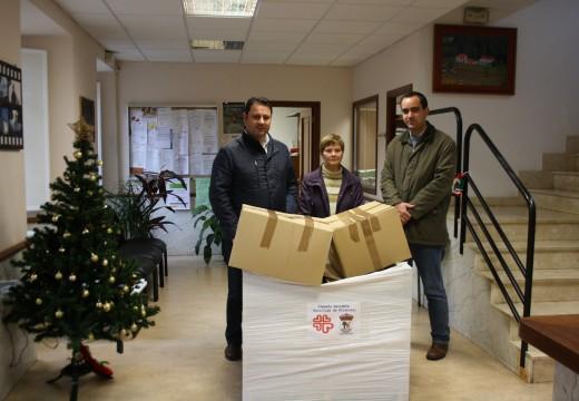 O Concello de Frades agradece a colaboración da veciñanza, que donou máis de 400 quilos de alimentos para familias necesitadas