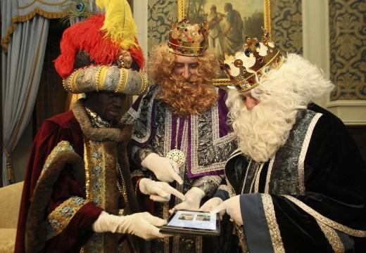 Máis de 20.500 persoas seguiron o percorrido dos Reis Magos pola cidade a través da web da Cabalgata Smart
