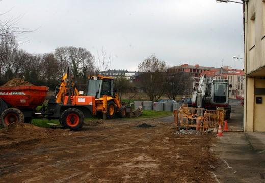 O Concello inicia as obras previstas na rúa Xardín