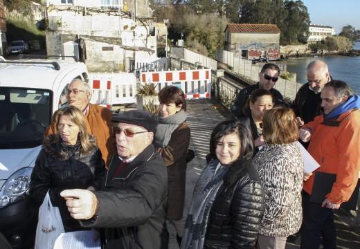 O Concello empeza as obras do proxecto para recuperar o camiño peatonal das Xubias e modernizar espazos públicos