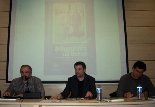O historiador Manuel Pazos presenta o seu último libro 'A República da Berxa'