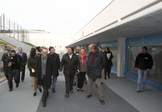 Carlos Negreira destaca a gran mellora que supoñerá, para os nenos e o profesorado, a ampliación das instalacións do CEIPEmilia Pardo Bazán