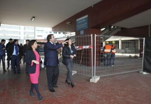 O Concello e a Xunta investirán 1,1 millóns de euros para reformar e facer máis accesible a estación de autobuses