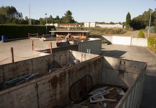 O punto limpo de Ordes recolle máis de 304.431 kg de residuos ao longo do pasado ano